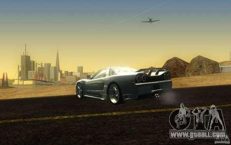 Honda NSX VeilSide Fortune for GTA San Andreas back left view
