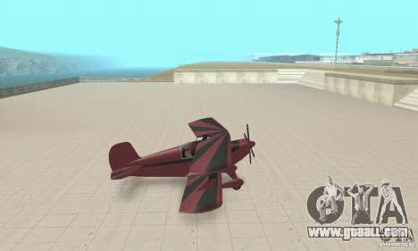 Extra 300L for GTA San Andreas back left view