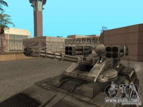 APC Anti-Air for GTA San Andreas right view