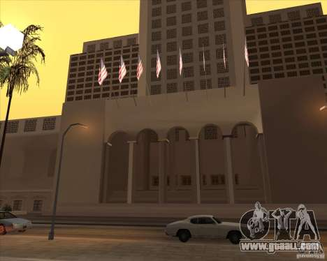 New textures of the City Hall for GTA San Andreas