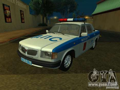 GAZ 3110 Police for GTA San Andreas