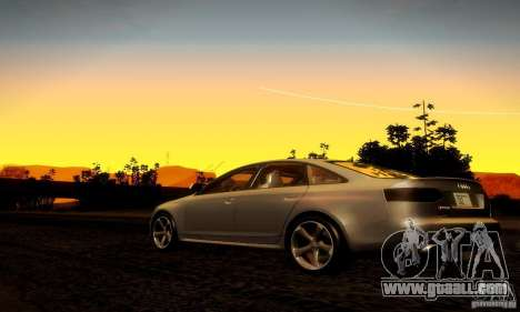 Audi RS6 TT for GTA San Andreas right view