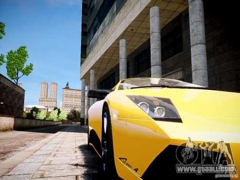 Lamborghini Murcielago LP650-4 Roadster for GTA 4 back left view