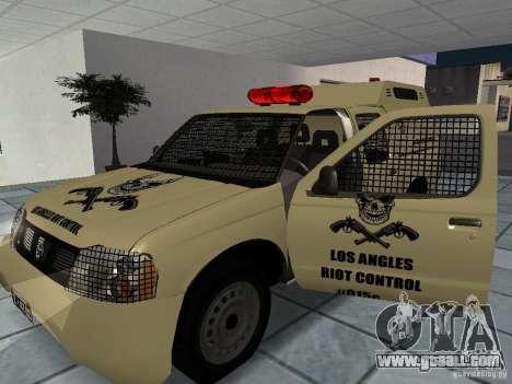Nissan Terrano LARC for GTA San Andreas right view