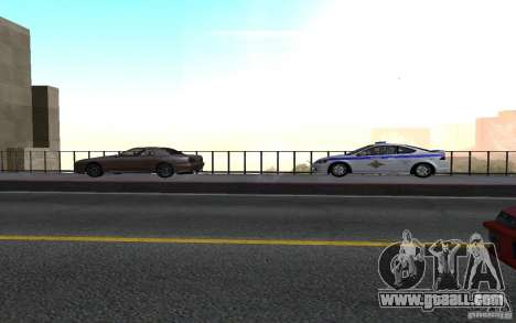 Police on the bridge of San Fiero_v. 2 for GTA San Andreas second screenshot