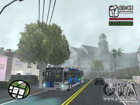 Cobrasma Monobloco Patrol II Trolerbus for GTA San Andreas