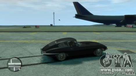 Jaguar XK E-type for GTA 4 left view