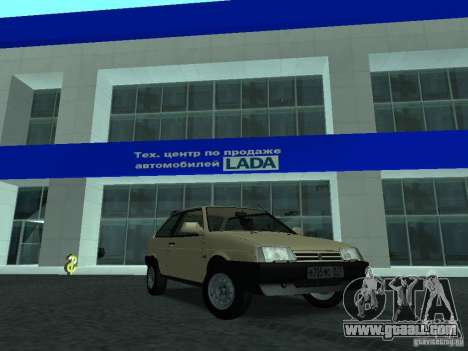 VAZ 2108 CR v. 2 for GTA San Andreas