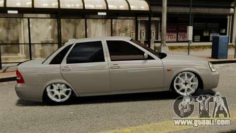 Vaz-2170 for GTA 4 left view