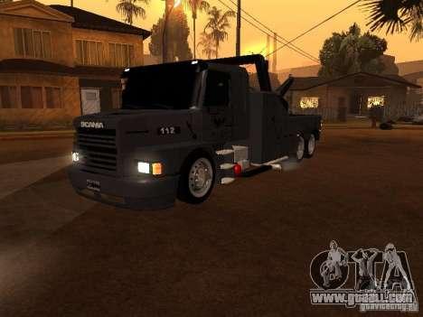 Scania 112H Gruas Fenix for GTA San Andreas