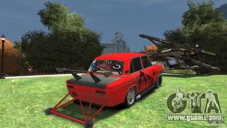 VAZ 2103 ground under the drag for GTA 4