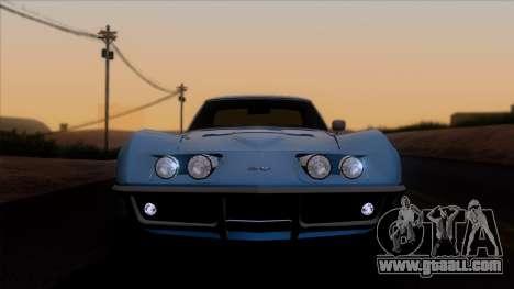 Chevrolet Corvette C3 Stingray T-Top 1969 v1.1 for GTA San Andreas