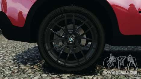 BMW X5 xDrive30i for GTA 4 upper view