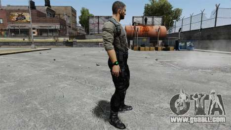 Sam Fisher v8 for GTA 4 second screenshot