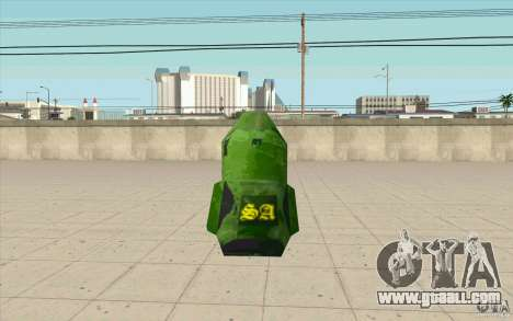 Military parachute for GTA San Andreas