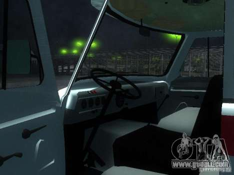 UAZ 3962 ambulance for GTA San Andreas back view