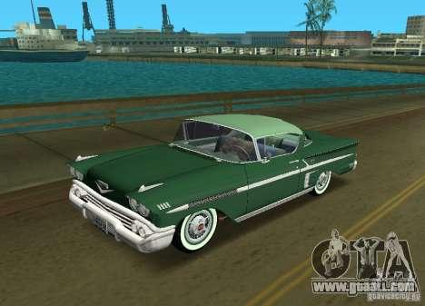 Chevrolet Impala 1958 for GTA Vice City
