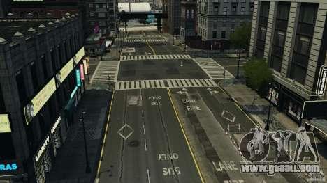 Empty city for GTA 4