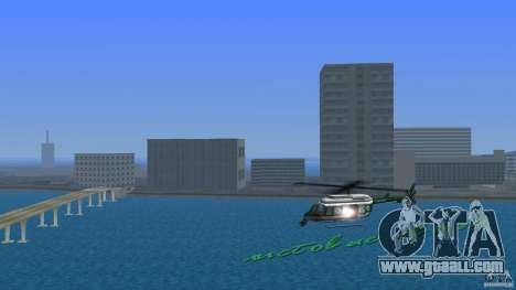 VCPD Chopper for GTA Vice City