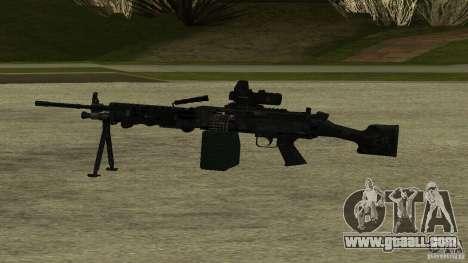 M240 for GTA San Andreas second screenshot