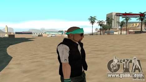 Skin Pack The Rifa Gang HD for GTA San Andreas seventh screenshot