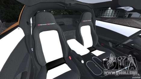 Chevrolet Corvette C6 Grand Sport 2010 for GTA 4 inner view