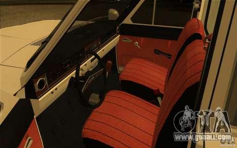 GAZ-24 Volga 03 ambulance for GTA San Andreas back view
