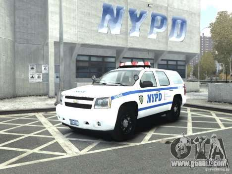 Chevrolet Tahoe NYCPD for GTA 4