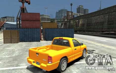 Dodge Ram SRT-10 v.1.0 for GTA 4 right view