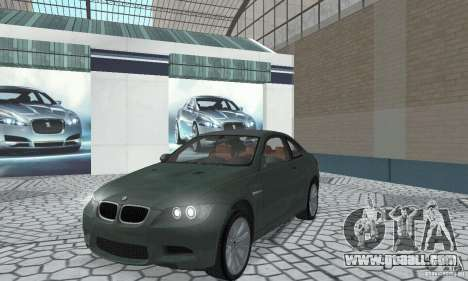 BMW M3 E92 Stock for GTA San Andreas left view