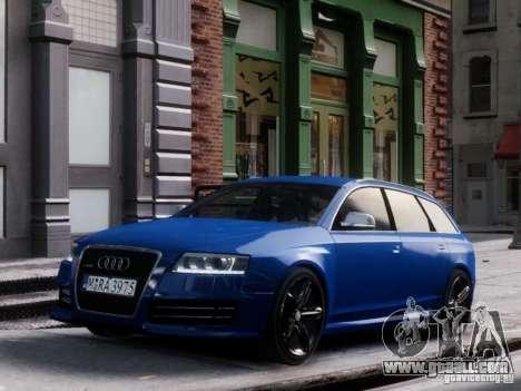 Audi RS6 Avant for GTA 4