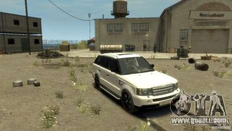 Land Rover Range Rover Sport for GTA 4