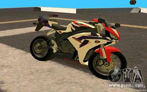 Honda Fireblade 1000RR for GTA San Andreas