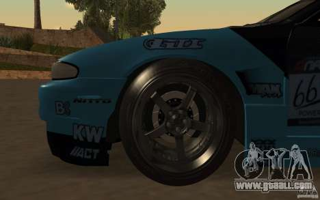 Nissan S14 Matt Powers 2012 for GTA San Andreas upper view