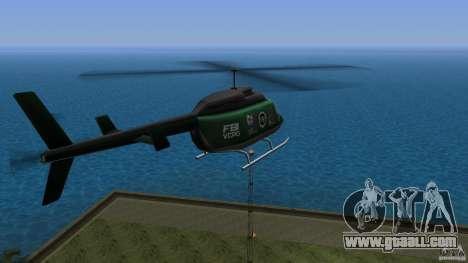 FBI Maverick for GTA Vice City left view
