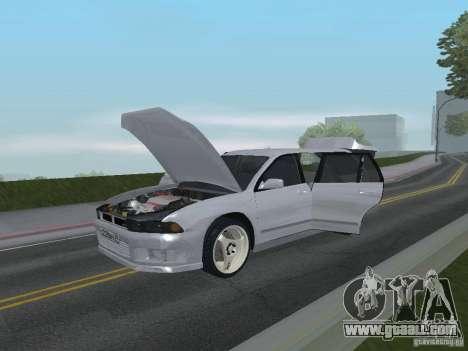 Mitsubishi Legnum for GTA San Andreas inner view
