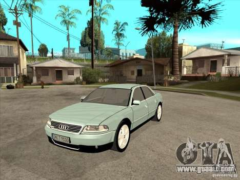 Audi A8 Long 6.0 W12 2002 for GTA San Andreas left view
