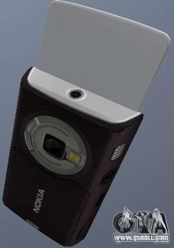 Nokia N95 Mobile for GTA San Andreas second screenshot