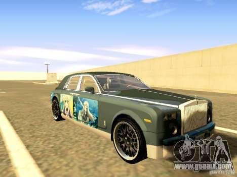 Rolls-Royce Phantom V16 for GTA San Andreas interior