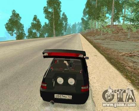 VAZ 21123 for GTA San Andreas inner view