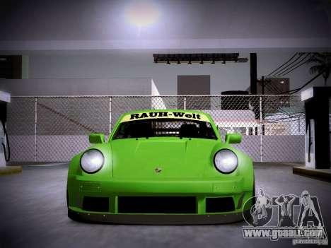 Porsche 911 Turbo RWB Pandora One for GTA San Andreas side view