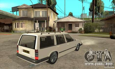 Volvo 945 Wentworth R for GTA San Andreas right view
