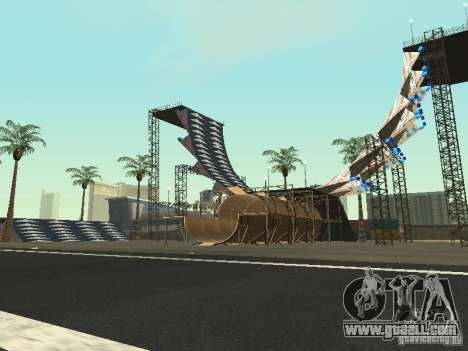 Drift track and stund map for GTA San Andreas
