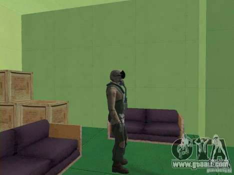 Military pilot for GTA San Andreas forth screenshot