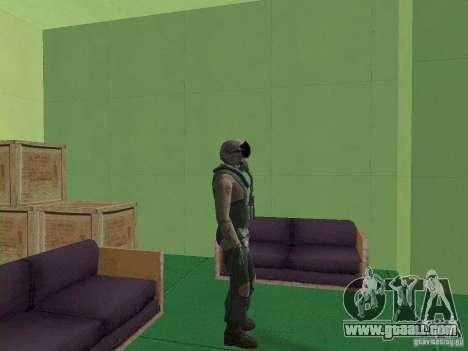 Military pilot for GTA San Andreas forth screenshot