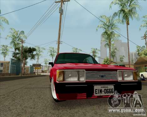 Chevrolet Opala Diplomata 1986 for GTA San Andreas left view