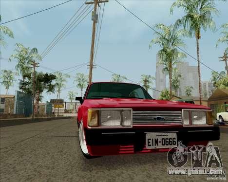 Chevrolet Opala Diplomata 1986 for GTA San Andreas left view