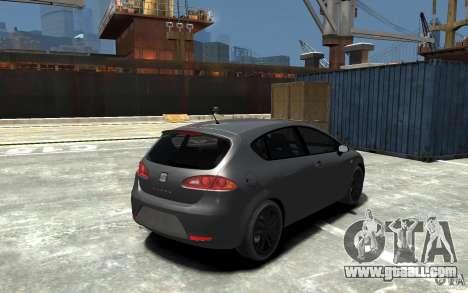 Seat Leon Cupra v.2 for GTA 4 right view