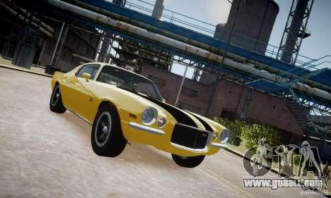 Chevrolet Camaro Z28 for GTA 4