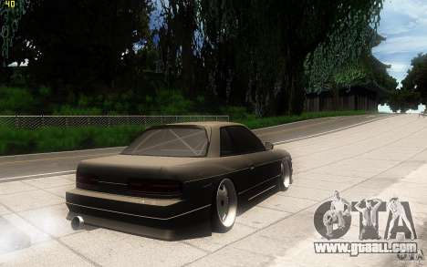 Nissan Silvia S13 Clean Edition for GTA San Andreas right view